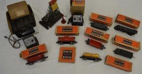 """Antique Lionel """"O"""" Gauge Model Train Set"""
