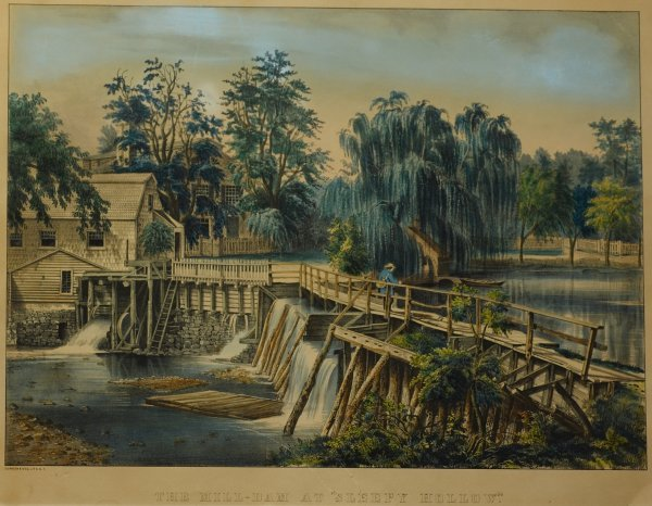 "7: The Mill Dam at ""Sleepy Hollow"" (Conningham #4124)"