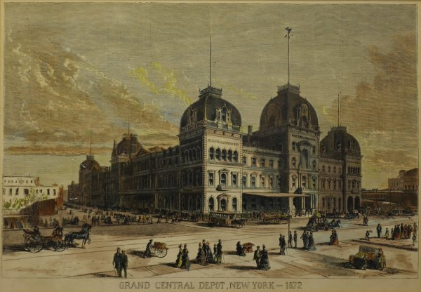 19: Grand Central Depot, New York, 1872