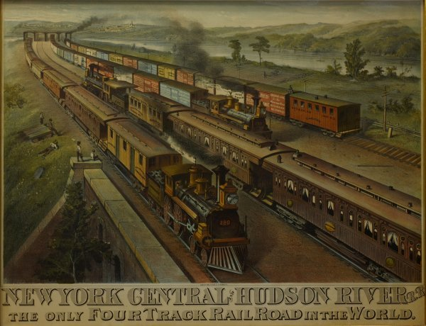 20: New York Central & Hudson River Railroad: The only