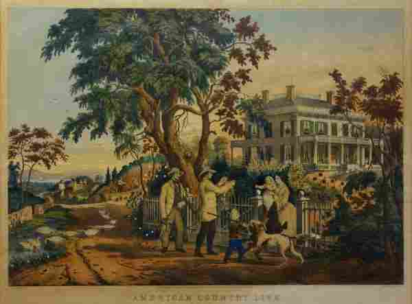 26: American Country Life, October Afternoon, 1855 (Con