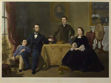 49: Lincoln and His Family, 1866