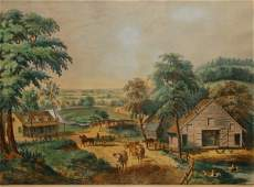 5 View of Long Island New York 1857 Conningham  53