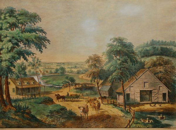 5: View of Long Island, New York, 1857 (Conningham # 53