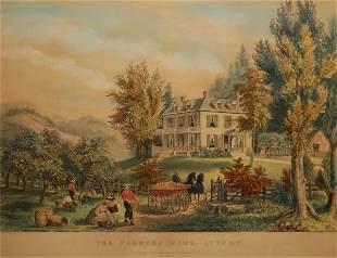 The Farmer's Home, Autumn 1864 (Conningham # 1572/Ga