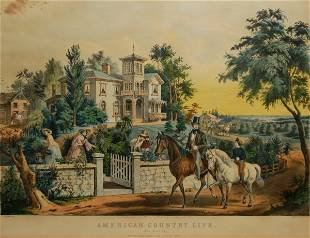 American Country Life: May Morning, 1855 (Conningham