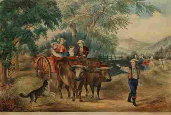 Haying-Time: The First Load, 1868 (Conningham # 227