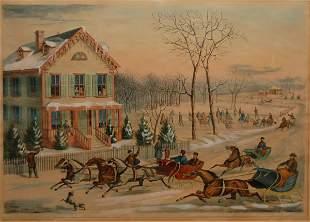 American Winter Scene, 1867