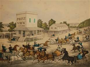 Trotting Cracks on the Road: Point View, E. Sturce,