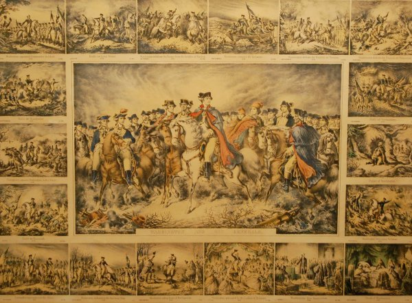 45: Life and Battles of General George Washington (20 v