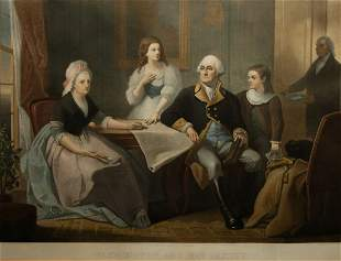 Washington and His Family, 1864