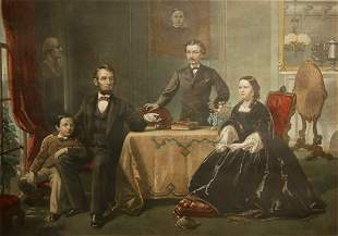 Lincoln and His Family, late 19th Century
