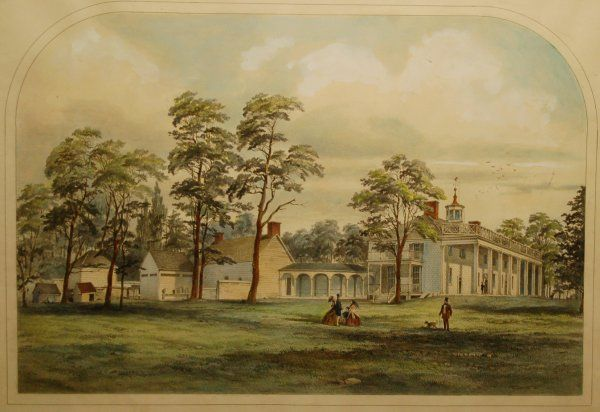 Mount Vernon's Early Farm Buildings