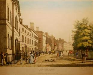 New York in 1826: Broadway from Bowling Green