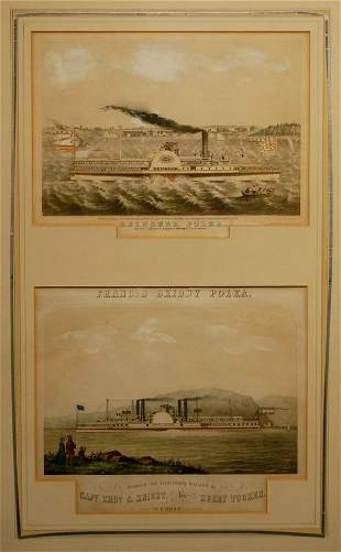G. Currier, Currier & Ives, and Jacques & Brother,