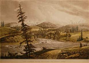 The Junction of the Sacandaga and Hudson Rivers, Pl