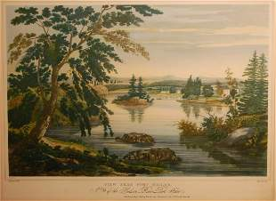 View Near Fort Miller: No. 9 of the Hudson River Po