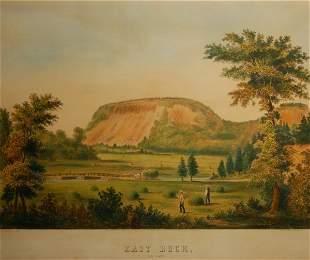 East Rock, New Haven, 1853