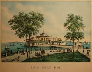 Castle Garden, 1850 (Port of Immigration prior to E