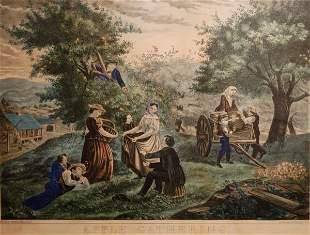 Apple Gathering, late 19th Century