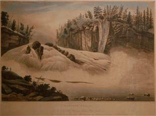 Hadley Falls: No. 5 of the Hudson River Port Folio,