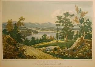 View Near Hudson: No. 12 of the Hudson River Port F