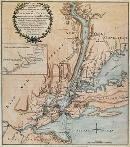 81: The seat of action, between the British and America
