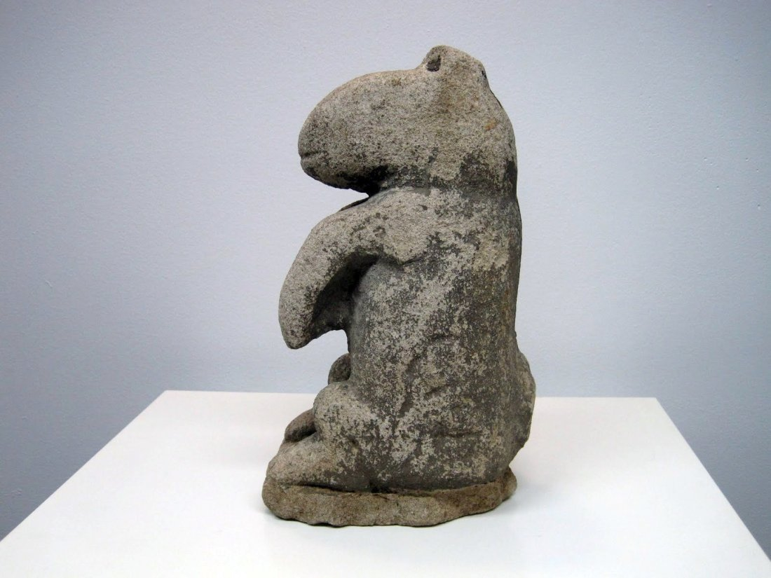 101: William Edmondson Critter Sculpture