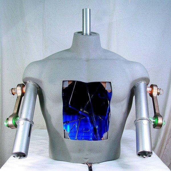 101: TERMINATOR 3 Light Up Prototype Terminator Model 1