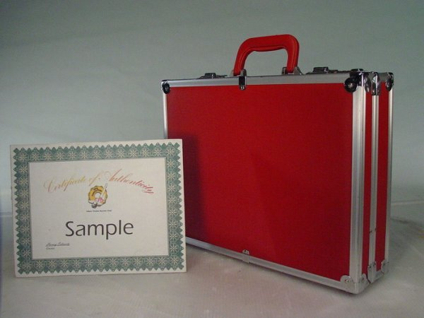 104: MINORITY REPORT Screen Used Modern Red Briefcase