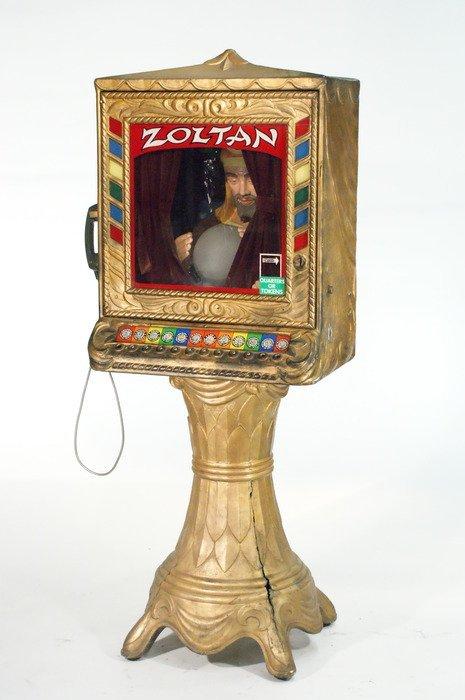 111: Zoltan Zodiac Fortune Teller Machine