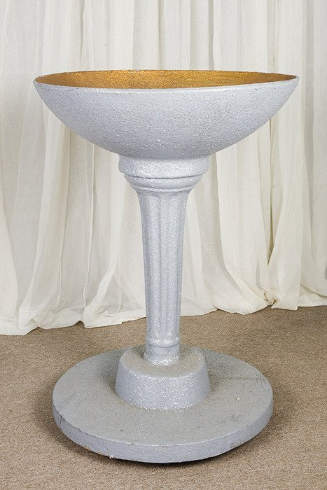 120: Original Oversized 3 1/2 Foot Tall Champagne Glass
