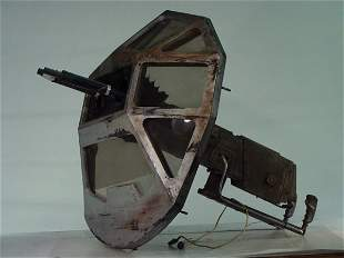 SPACE ABOVE and BEYOND Screen Used Space Ship Turr