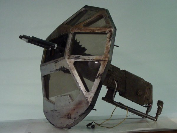 651: SPACE ABOVE and BEYOND Screen Used Space Ship Turr