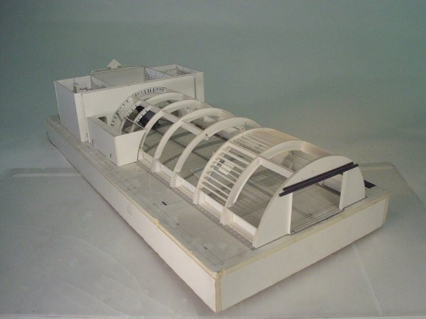 "652: TERMINATOR 3 Architectural Set Model ""Tunnel Blast"
