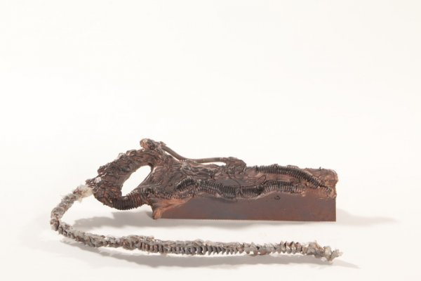 655: ALIEN NATION Screen Used Large Bone Saw