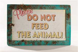 """PLANET of the APES Screen Used """"Please Do Not Feed"""