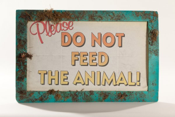 """656: PLANET of the APES Screen Used """"Please Do Not Feed"""