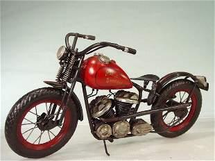 """""""HARLEY DAVIDSON"""" Tin Motorcycle Model"""