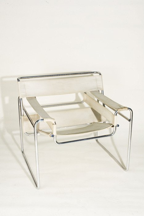 774: Vintage 1925 Wassily Chair by Marcel Breuer