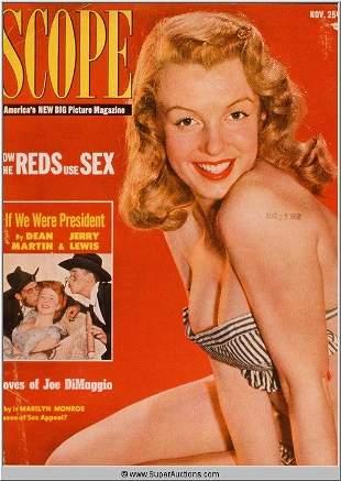 Marilyn Monroe Cover Girl Color Transparency Slide