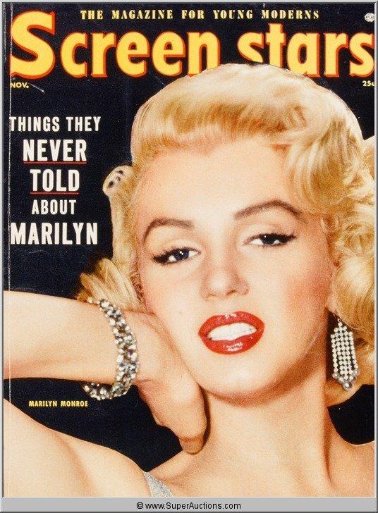 3: Marilyn Monroe Cover Girl Color Transparency Slide