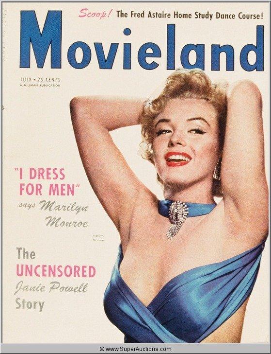 4: Marilyn Monroe Cover Girl Color Transparency Slide