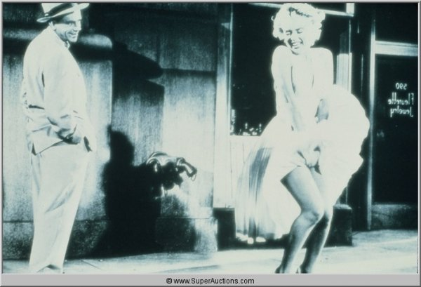 """5: Marilyn Monroe """"The Seven Year Itch"""" Transparency Sl"""