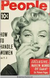 415: Marilyn Monroe Cover Girl Color Transparency Slide