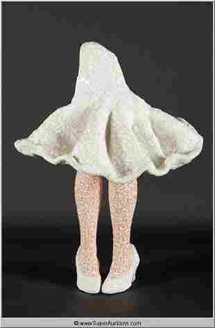 Statue of Marilyn Monroe Legs