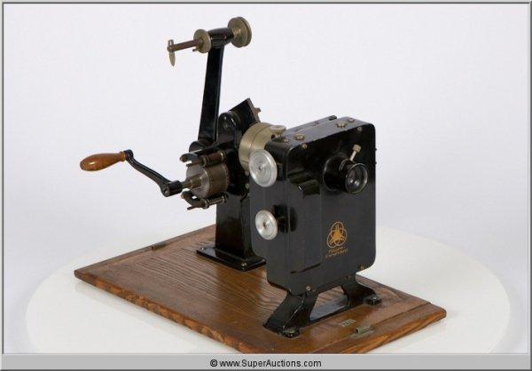 19: Krupp Ernamann Hand Crank 35 mm Projector