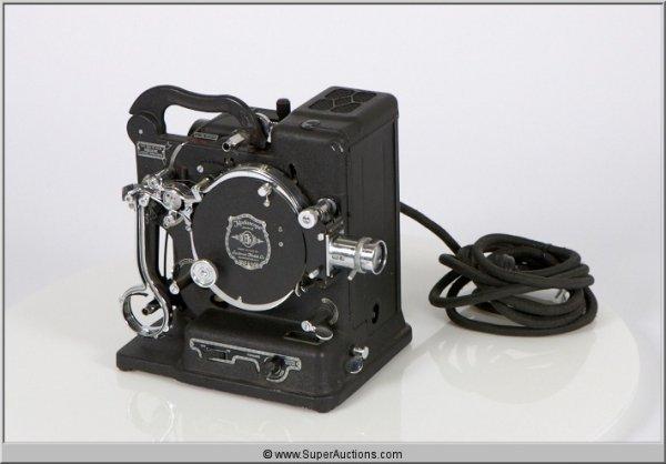22: Kodascope Model B 16 mm Projector in Case