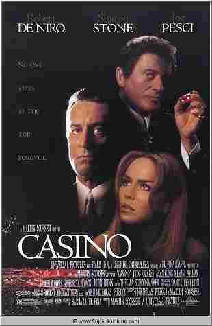 """Casino"" Movie Poster"
