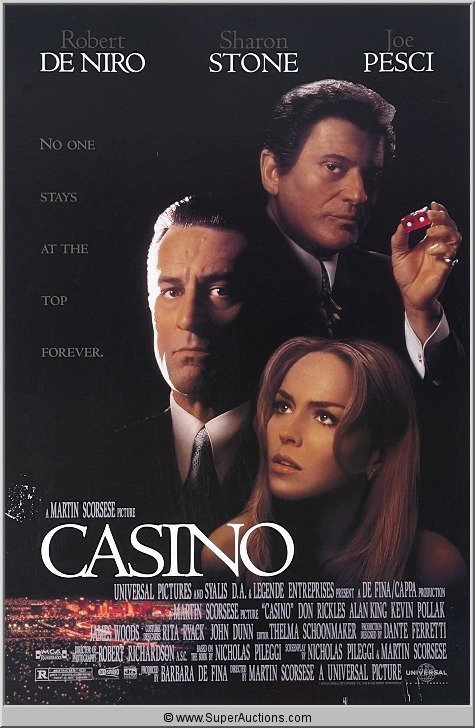 "14: ""Casino"" Movie Poster"